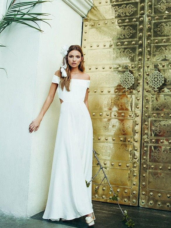 Dress for evening summer wedding