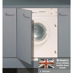 Buy White Knight C43AW 43AW 6kg Integrated Vented Tumble Dryer from Appliances Direct - the UK's leading online appliance specialist