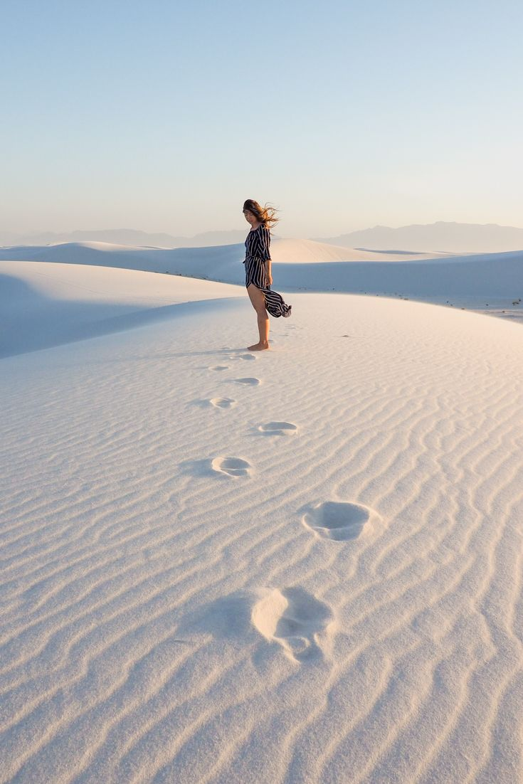 White Sands | New Mexico | Photography | Photoshoot | Earth | Camping | Travel #trip #wanderlust #travel #inspiration #summer #sand