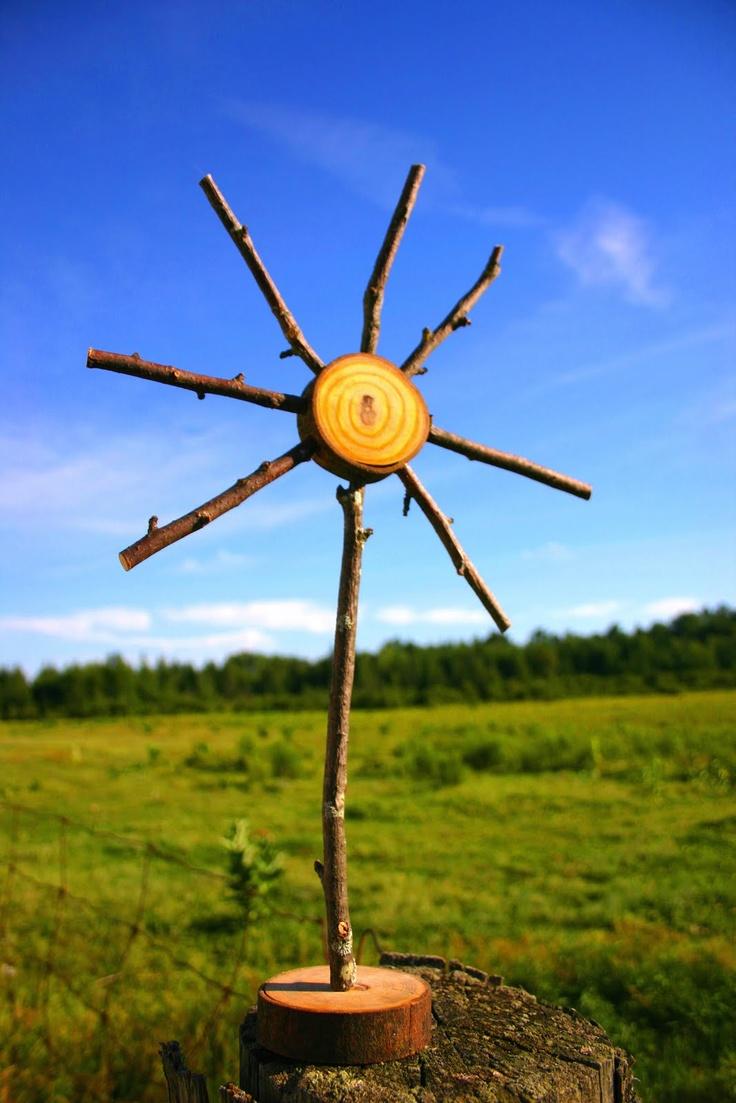 Wabi-Sabi Wanderings: Wooden Sun Craft - Part 2