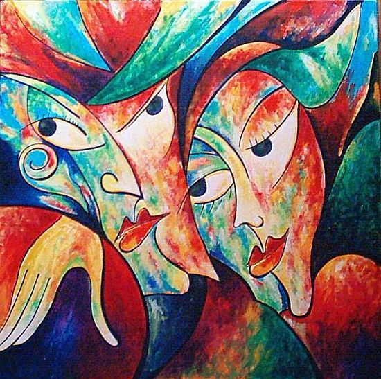 Abstract+Art+Famou+Oil+Paintings | Dafen Oil Painting on ...