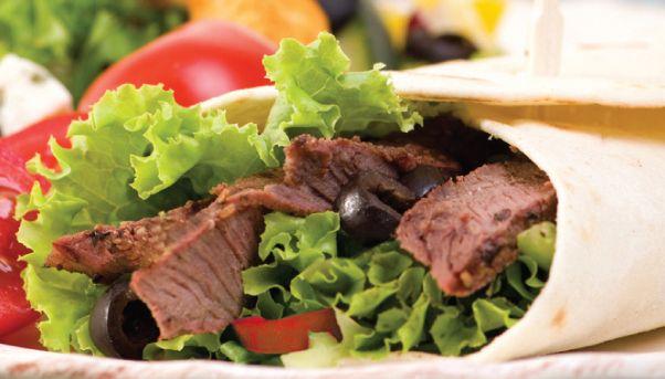 U Weight Loss Clinics – GREEK BEEF WRAP