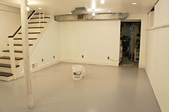 How To Paint A Basement Floor | Diy Squirrel: Candy Paint Job