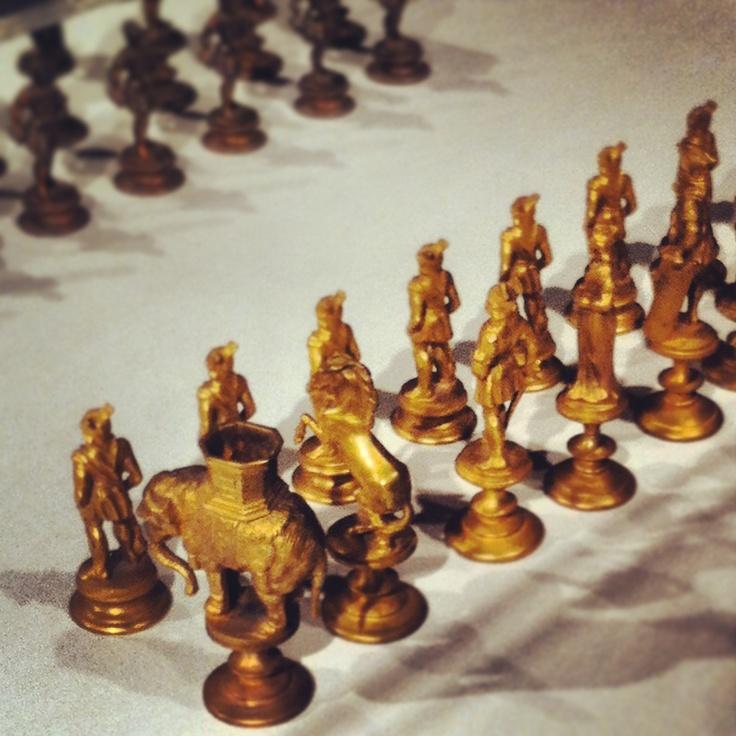 Paul Morphy chess set