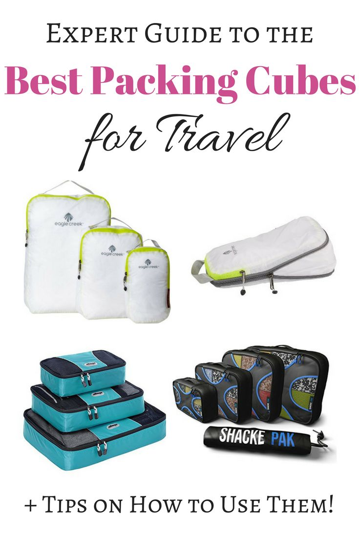 Expert Guide to the Best Packing Cubes for Travel - Best Packing Cube Reviews + Tips on How to Use Them!