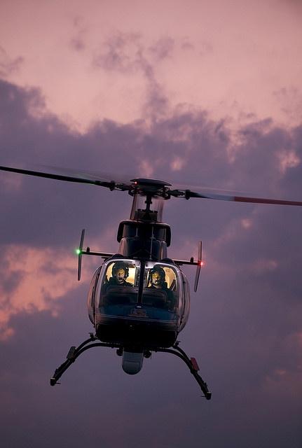 Bell 407 Police Chopper by strobist