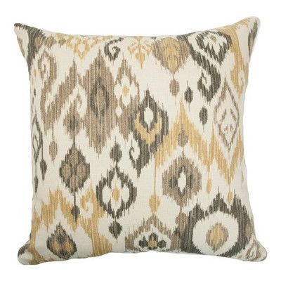 The Pillow Collection Odayle Ikat Bedding Sham Size: Standard