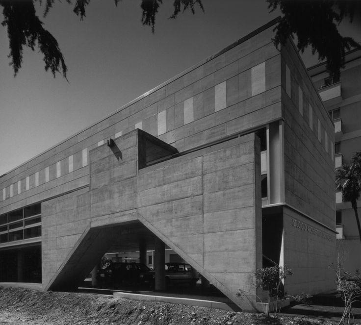 Livio Vacchini, Studio di architettura, Livio Vacchini,1984-1985, Locarno, TI