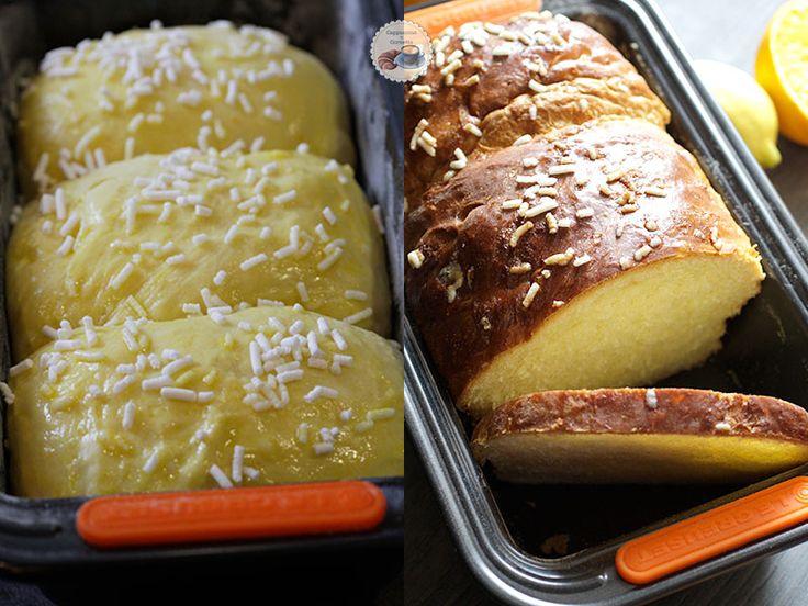 Pan brioche dolce agli agrumi