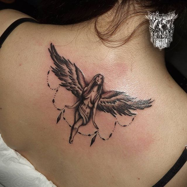 #tattoo #angel #nakedangel #back #bngtattoo #tattooedgirls #inkedgirls #design #freshtattoo #angels #customtattoo #tattoos #ink #inkstagram #inklab #tattoostagram #quickcaps #truegrips #backtattoo #crimsontideink #tattooinlondon #igorsto #camdentown #inkstagram  Better picture. I hope you'll enjoy it. Has done in 2hrs.  www.tattooinlondon.com