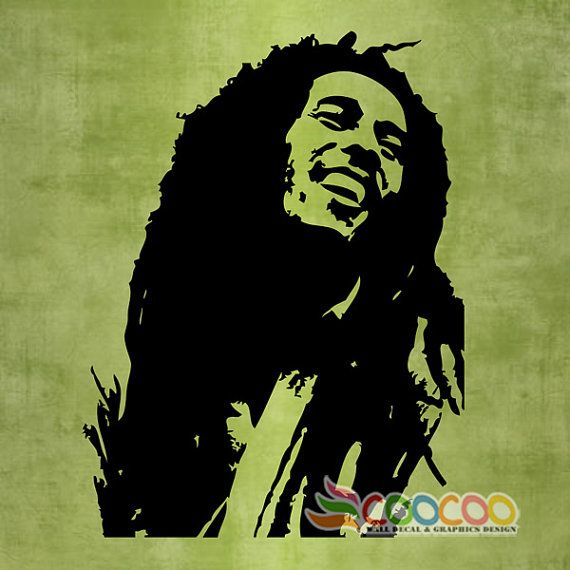 17 best images about harlees bedroom on pinterest vinyls for Bob marley wall mural