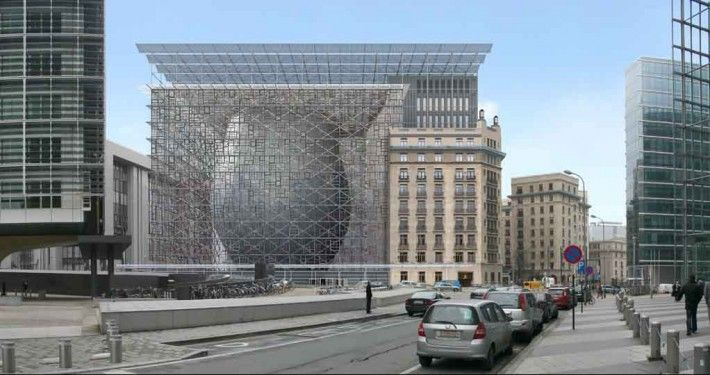 Seat of the European Council and the EU Council in Brussels - Philippe SAMYN and PARTNERS, STUDIO VALLE PROGETTAZIONI , BURO HAPPOLD LIMITED