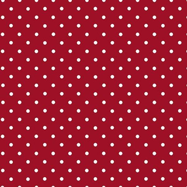 Film adhésif Pois rouge
