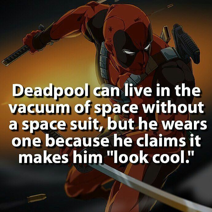 Deadpool is a bad ass.  Follow for more #awesome #geektent all day everyday…