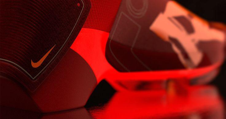 Nike RR 2030 Concept detail rendered in KeyShot by David Olivares.