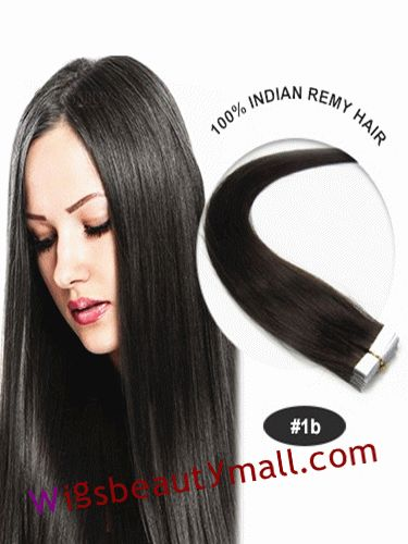 73 best tape in hair extensions images on pinterest remy human cheap wholesale yaki hair extensions professional 34 inch natural black straight tape in indian remy human hair extensions outlet outlet shop pmusecretfo Choice Image