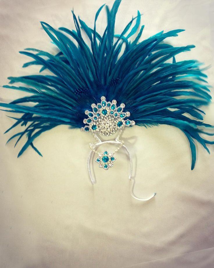 MERMAID Headdress • Complete Samba Costume set of 8 pieces • Available Now   Contact @corettavanessa : hello@missglamurosa.com
