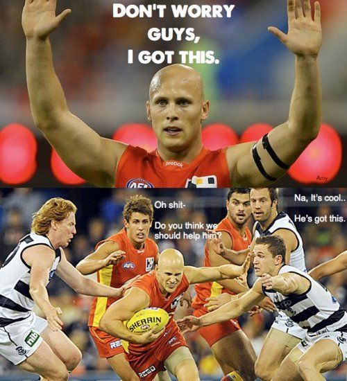 Geelong going to the game this weekend. Kangas vs Cats