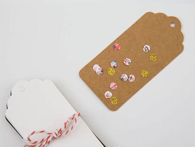 DIY: Photo Confetti. Fun project making confetti using copies of your favorite photos.