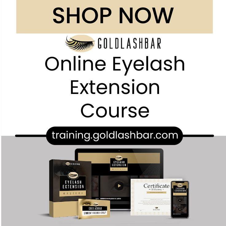 Online Eyelash Extensions Course | Eyelash extensions ...