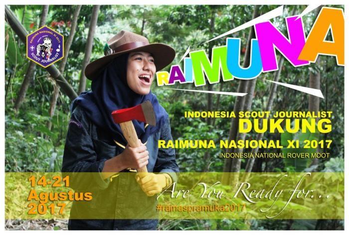 Syarat Pramuka Garuda untuk Peserta Raimuna Nasional 2017 Dikoreksi  Selengkapnya : http://www.kompasiana.com/bertysinaulan/syarat-pramuka-garuda-untuk-peserta-raimuna-nasional-2017-dikoreksi_58afebb7f77e6136187fc6f2  Poster dukungan Rainas XI-2017 dari Indonesia Scout Journalist. Modelnya adalah Mutiara Adriane, seorang Pramuka Penegak Garuda. (Foto: R. Andi Widjanarko, #ISJ003)  Scout Journalist #ISJ #scoutjournalist #raimunapramuka2017
