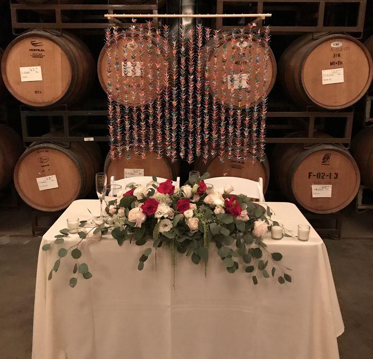Paper Crane backdrop. Temecula Winery. #Wedding #Weddings #WeddingPhotography #MountPalomarWinery #Weddinggoals #Justmarried #Weddingday #Weddingflowers #WeddingFlorals #Weddingdress #Weddingveil #Weddinginspiration #Weddinginspo #Weddingideas #Winerywedding #Winecountry #Vineyardwedding #Temeculawedding #Temeculavalley #Winecountry #Bride #Groom #Rusticwedding #Romanticwedding #Weddingplanning  #WeddingMakeUp #WeddingVenue #OutdoorWeddingVenue #DIY #Tablesetting #Tablescape #TableDecor