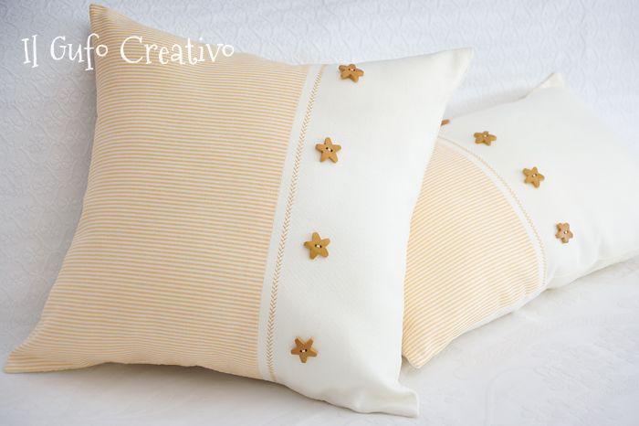 Il Gufo Creativo cotton pillows
