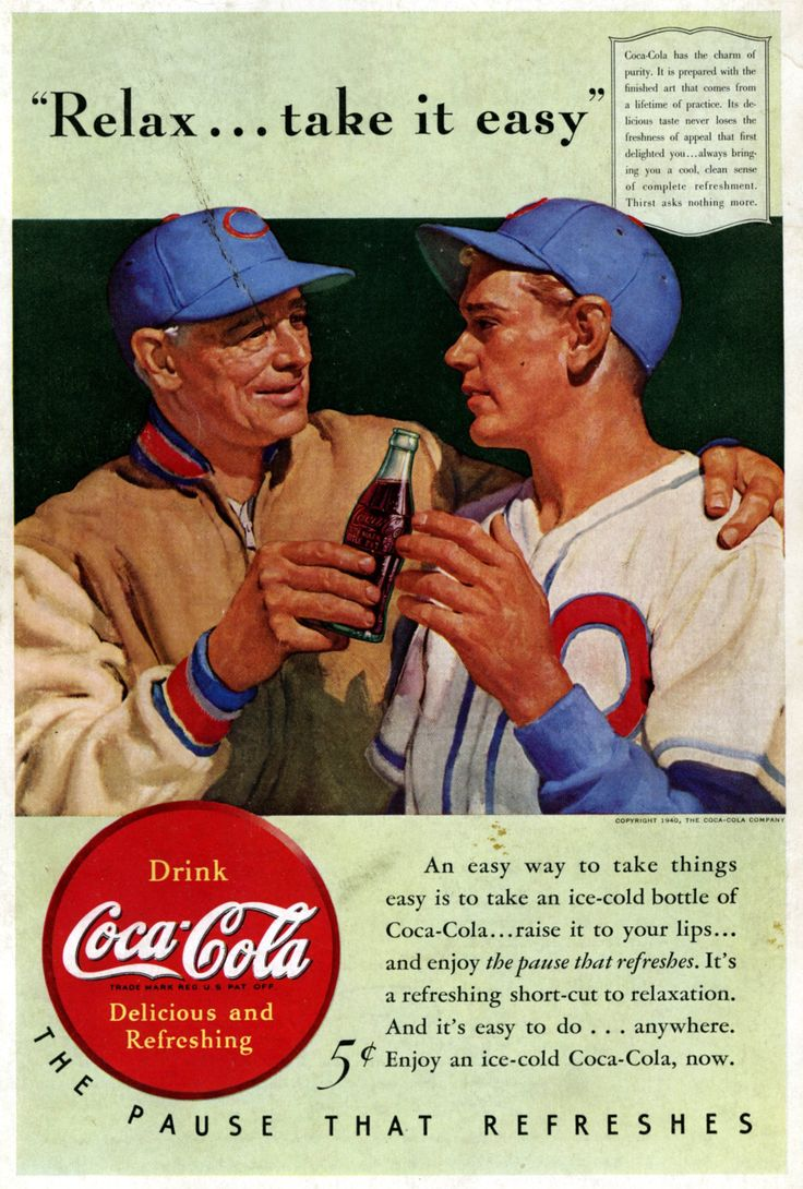 Coca cola ads images amp pictures becuo - Images Of 1940 Coke Coca Cola Ad Baseball Player Vintage Ads Wallpaper