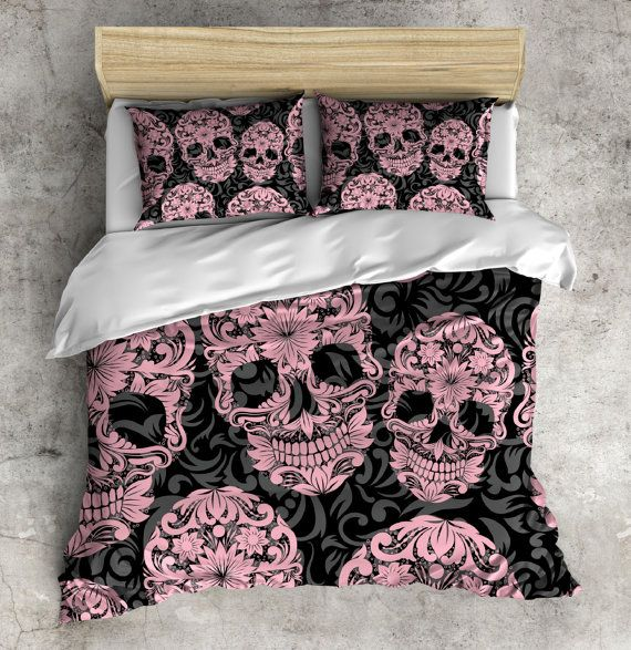 134 best Guest Room images on Pinterest | Skull decor, Skull bedroom ...
