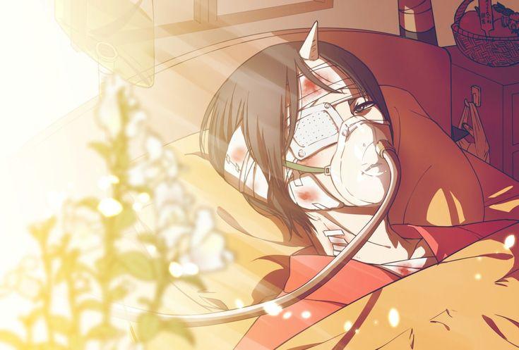 Twitter (OMG, what happened to you, Hozuki!!?? *brings flowers* get well soon <3 !!)