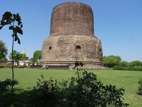 Stoupa in Sarnath near Varanasi