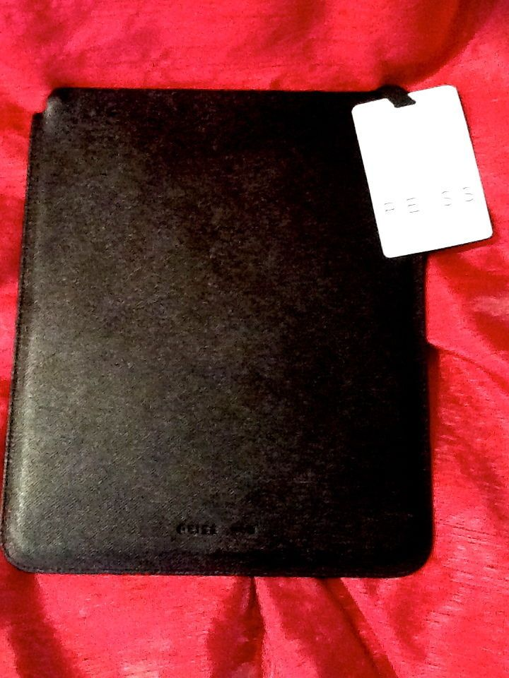 New Reiss London iPad Case Sleeve Leather Black Retails $160 Apple Universal #ReissLondon