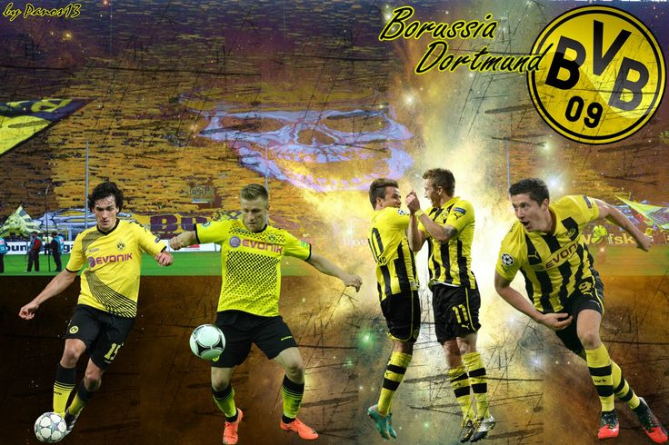 """Kuba"" -Jabub Blaszczykowski & ""Lewy"" - Robert Lewandowski & andere Fussballspieler bei BVB Borusia Dortmund"