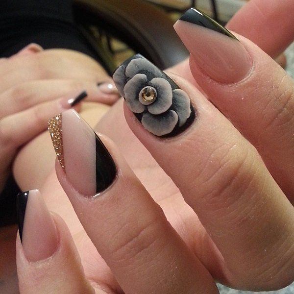 310 best Fall Nails images on Pinterest | Make up, Fall nails and Enamels - 310 Best Fall Nails Images On Pinterest Make Up, Fall Nails And