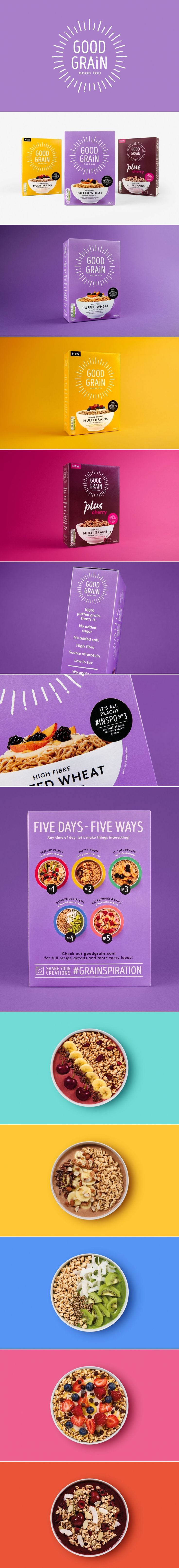 Good Grain Gets an Irresistible New Look That Will Cheer Up Your Breakfasts — The Dieline   Packaging & Branding Design & Innovation News