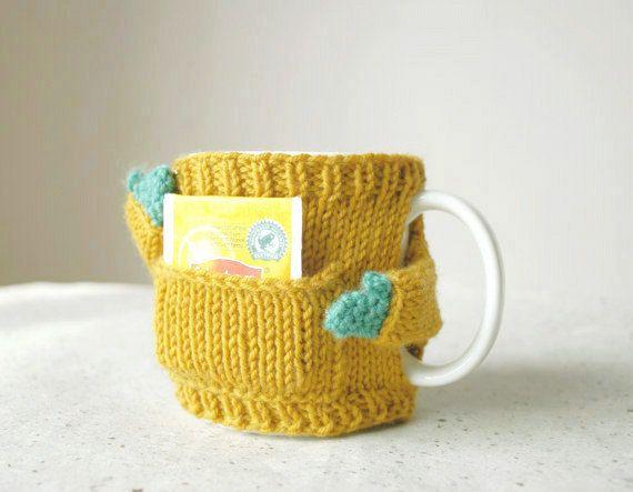 Canguro boccale maglione senape di mugsweater su Etsy