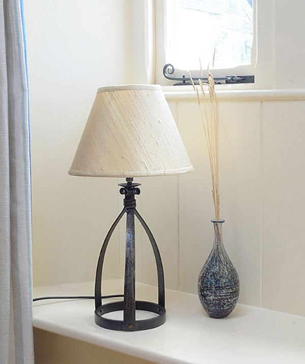 Mitre Tiny Wrought Iron Table Lamp In 2019
