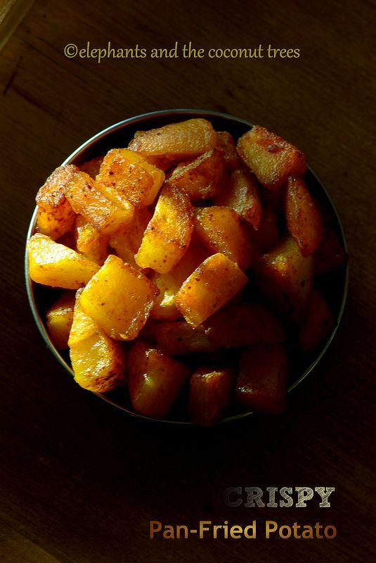 Pan-Fried Potatoes (Spicy) #FoodNetwork #Comfortfoodfeast #Potato