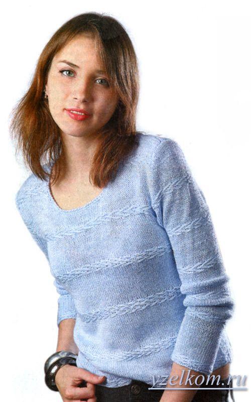 простое вязание модели