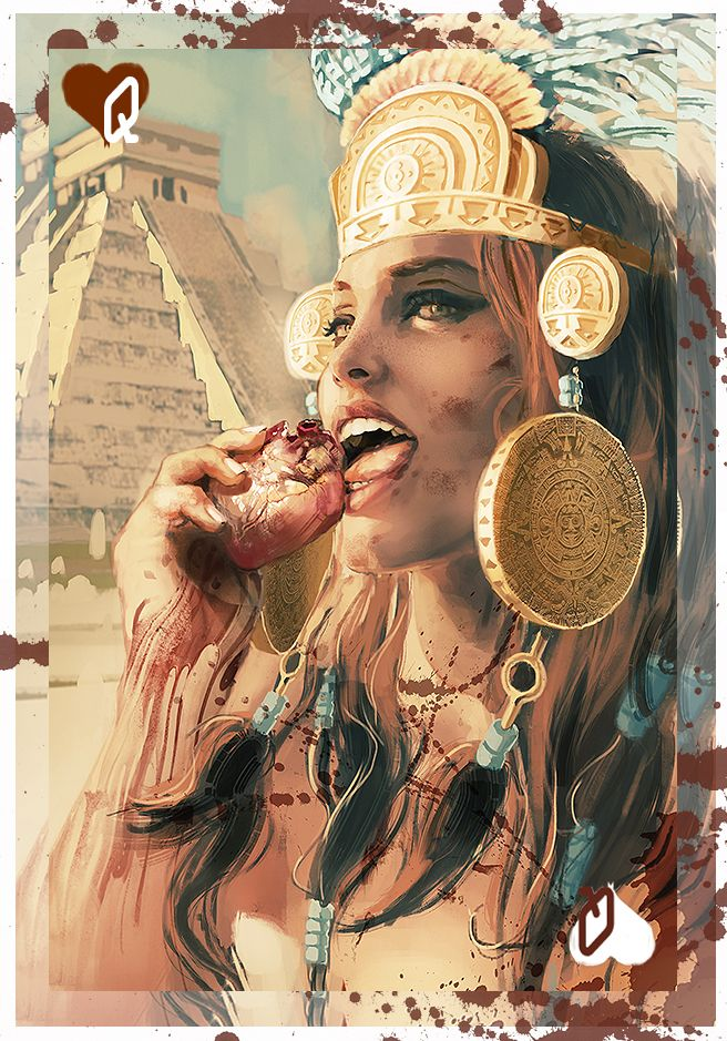 Aztec Warrior Queen