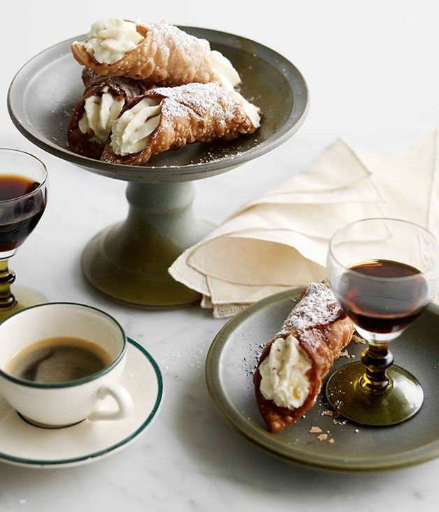 FLIPP Management | Cannoli recipe styling by Emma Knowles