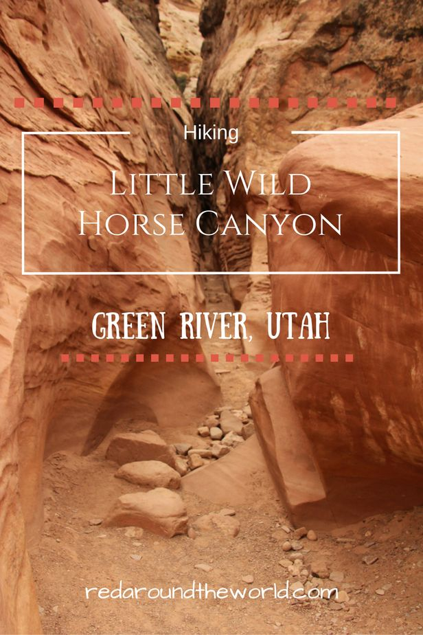 Little Wild Horse Canyon is one of my favorite hikes and has easily accessible slot canyons.  It's the perfect stop on a Utah roadtrip