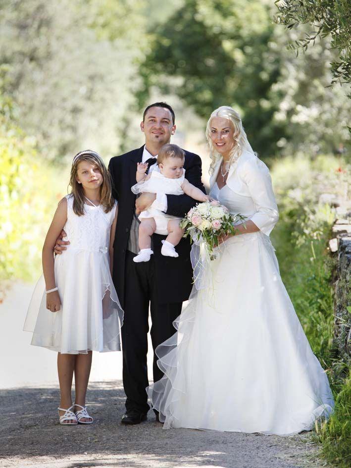Romantische Trauung in der Toskana   Heiraten in Italien: Hochzeit in der Toskana