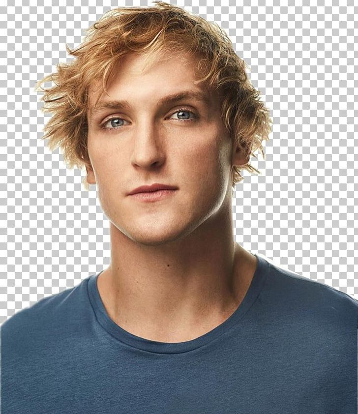 Logan Paul Youtuber The Thinning Vine Png Actor Blond Brown Hair Cheek Chin Logan Paul Brown Hair Brown Blonde Hair