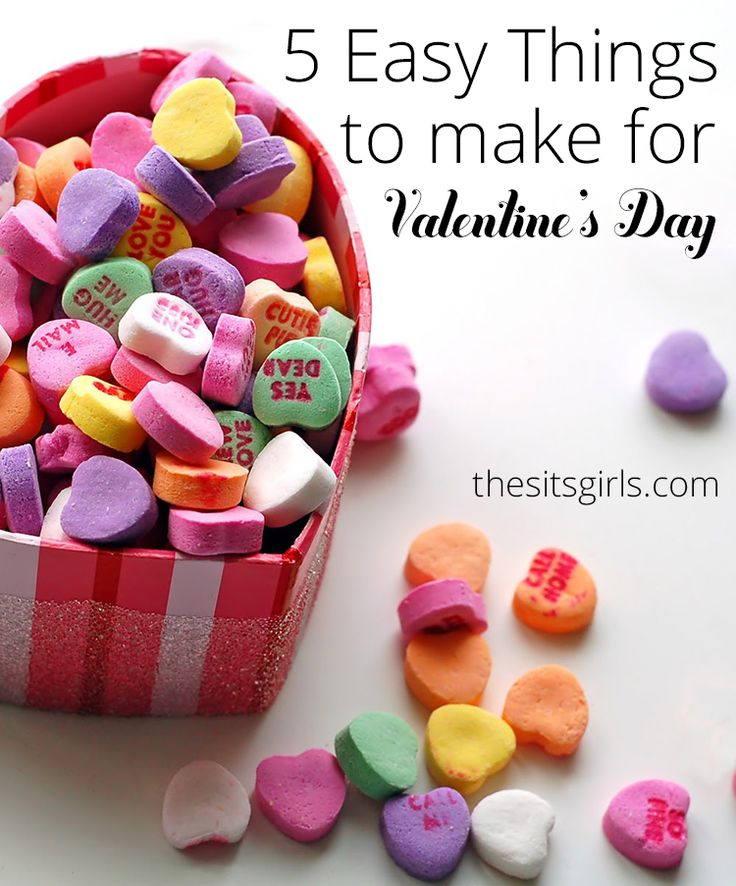 5 Easy Things To Make For Valentine's Day
