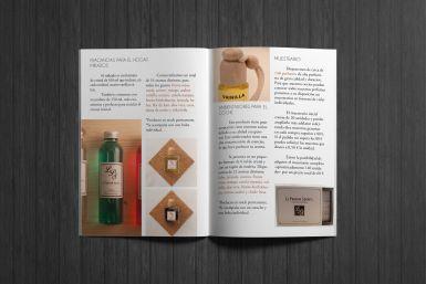 Diseño y maquetación. Catálogo.