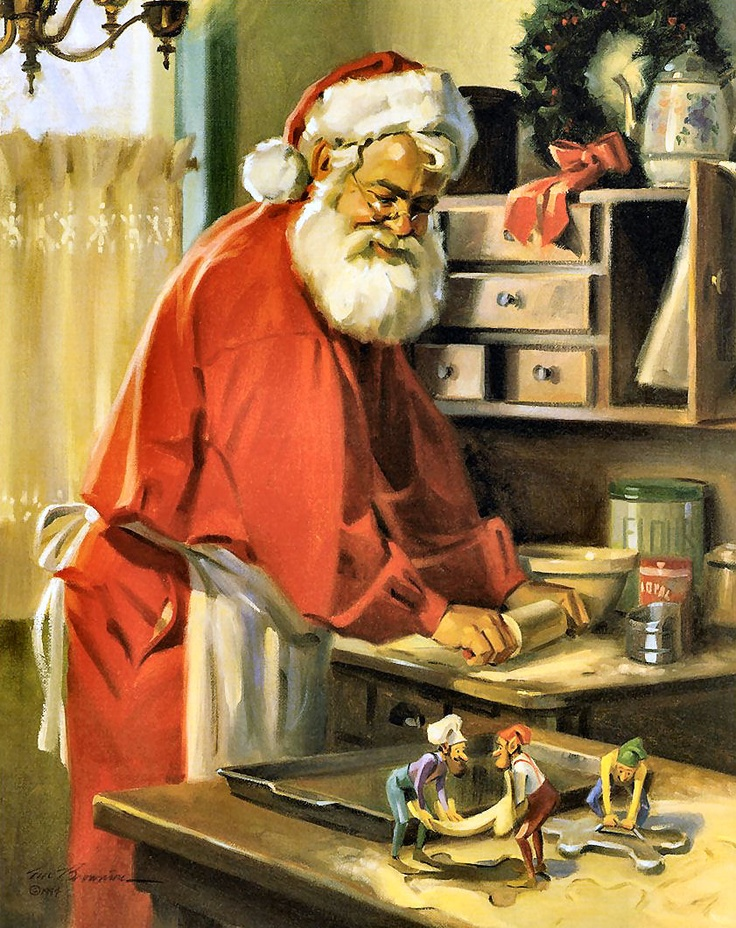 Santa's Time Off by Tom Browning