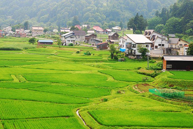 美田舎 − Be INAKA! − Japanese beautiful rural landscape and nature.: Rural Village - NAGANO Pref. -