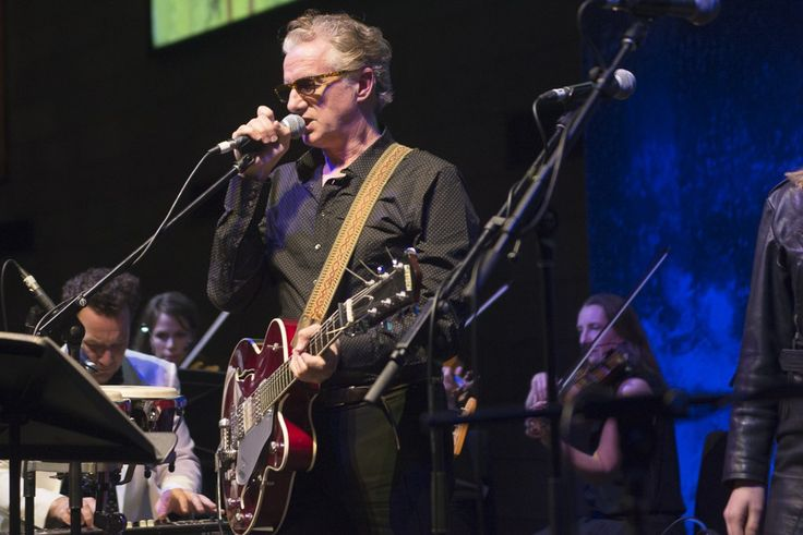 Mick Harvey performs songs from his Serge Gainsbourg trilogy of albums as part of the Friday Nights at the NGV series. Featuring Xanthe Waite, JP Shilo, Dan Luscombe, Jess Ribeiro, Lyndelle-Jane Spruyt. Photos by Daniel Oh.