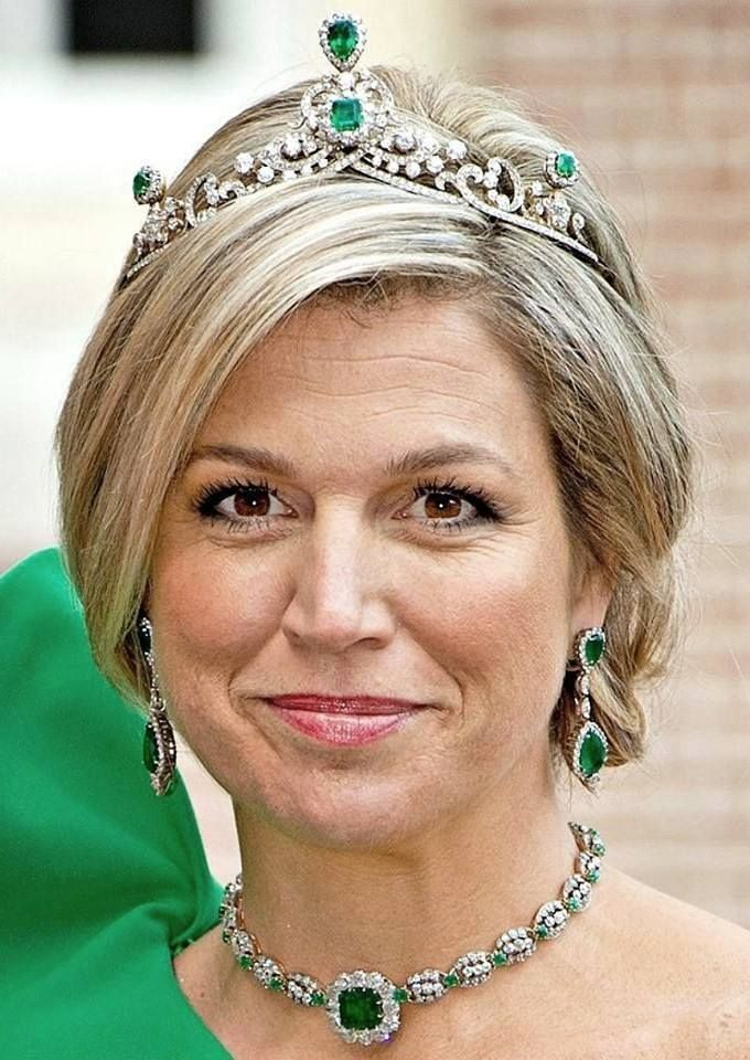 Tiara #41: the Tiara of the Emerald Parure When:...